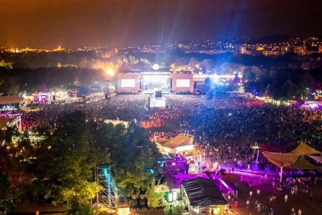 Budapeşte Sziget Festivali: